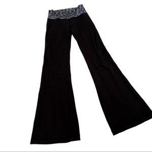 Lululemon Groove Pant III tall black static waist